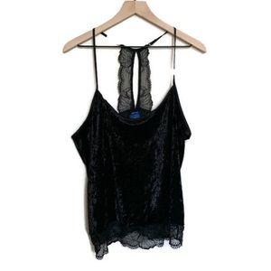 ✨NEW✨ Apt. 9 Intimates Women's Velvet Lace Top
